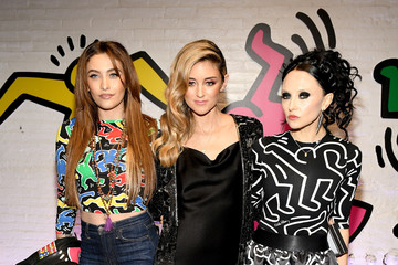 Paris Jackson Stacey Bendet And Paris Jackson Celebrate The Launch Of Keith Haring x Alice + Olivia