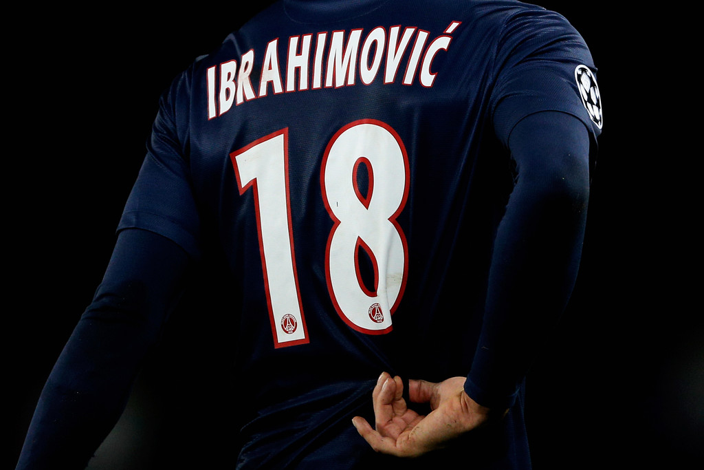 quality design 8d54a db61d Zlatan Ibrahimovic Photos Photos - Paris Saint-Germain FC v ...