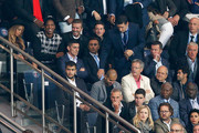 Beyonce, Jay-Z and David Beckham watch the action during the Group F UEFA Champions League match between Paris Saint-Germain v FC Barcelona held at Parc des Princes on September 30, 2014 in Paris, France.