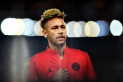 Neymar of Paris Saint-Germain during the Group C match of the UEFA Champions League between Paris Saint-Germain and SSC Napoli at Parc des Princes on October 24, 2018 in Paris, France.