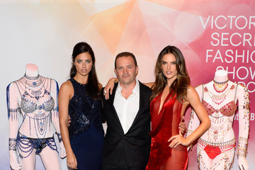 Pascal Mouawad Adriana Lima and Alessandra Ambrosio Debut Fantasy Bras