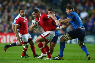 Pascal Pape France v Canada - Group D: Rugby World Cup 2015