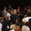 Pat Riley Funeral Held For Boxing Legend Muhammad Ali In His Hometown Of Louisville, Kentucky