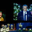 Pat Riley Memorial Service For Los Angeles Lakers Owner Dr. Jerry Buss