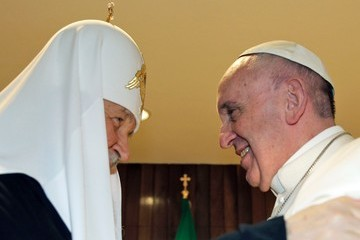 Patriarch Kirill Historic Meeting Between Pope Francis and Russian Orthodox Church Patriarch in Havana