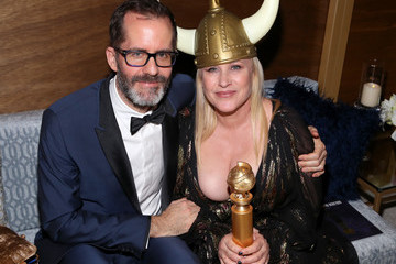 Patricia Arquette Eric White The 2020 InStyle And Warner Bros. 77th Annual Golden Globe Awards Post-Party - Inside