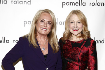 Patricia Clarkson Pamella Roland - Backstage - February 2019 - New York Fashion Week
