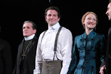 "Patricia Clarkson Bradley Cooper ""The Elephant Man"" Broadway Opening Night - Curtain Call"