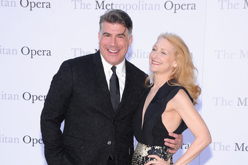 Patricia Clarkson Bryan Batt Arrivals at 'Eugene Onegin' in NYC