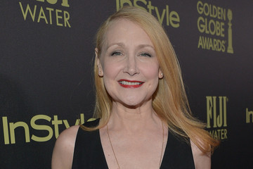 Patricia Clarkson FIJI Water at the HFPA and InStyle Celebration of Miss Golden Globe 2016