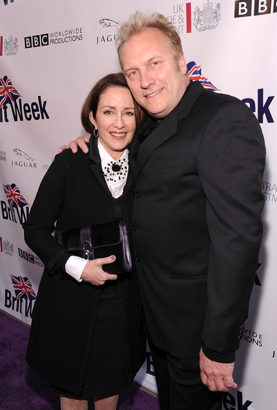 Patricia Heaton with friendly, calm, quiet, Wife David Hunt