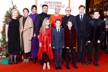Patricia Hodge 'Surviving Christmas With The Relatives' World Premiere - Red Carpet Arrivals