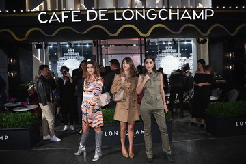 Patricia Manfield Longchamp And Kendall Jenner Celebrate The Opening Of Longchamp Fifth Avenue Flagship