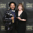 Patricia Richardson 33rd Annual Lucille Lortel Awards - Press Room