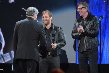 Patrick Carney 31st Annual Rock and Roll Hall of Fame Induction Ceremony - Show