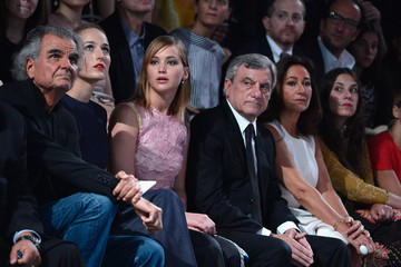 Patrick Demarchelie PFW: Front Row at Christian Dior