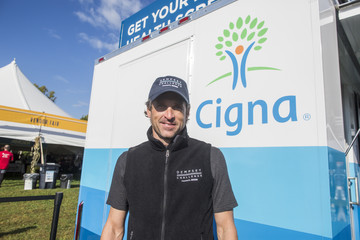 Patrick Dempsey Actor Patrick Dempsey Tours Cigna Foundation Health Improvement Tour Mobile Unit at Annual Dempsey Challenge In Lewiston, Maine