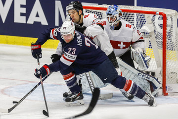 Patrick Geering USA v Switzerland - 2015 IIHF Ice Hockey World Championship Quarter Final