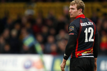 Patrick Leach Newport Gwent Dragons v Scarlets - LV Anglo Welsh Cup