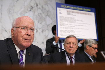 Patrick Leahy Senate Holds Confirmation Hearing For Brett Kavanugh To Be Supreme Court Justice