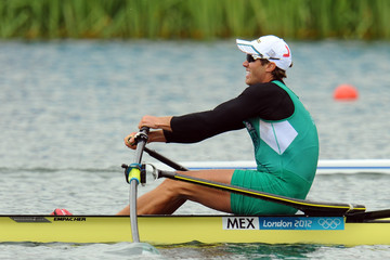 Patrick Loliger Salas Olympics Day 5 - Rowing