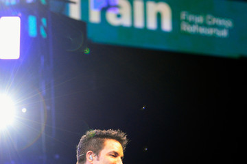 Patrick Monahan Train Performs Private Show for SiriusXM at the MGM Grand Garden Arena in Las Vegas