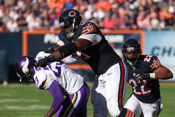 Patrick Omameh Minnesota Vikings v Chicago Bears