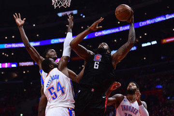 Patrick Patterson Oklahoma City Thunder v Los Angeles Clippers