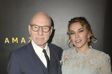 Patrick Stewart Amazon Studios Golden Globes After Party - Arrivals