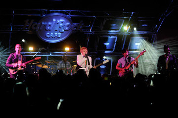 Casey Benjamin Patrick Stump Performs At The Hard Rock Cafe On The Strip