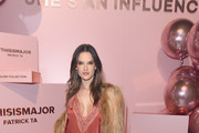 Alessandra Ambrosio attends Patrick Ta Beauty Launch on April 4, 2019 in Los Angeles, California.