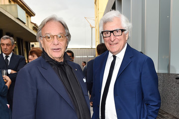 Patrizio Bertelli Miuccia Prada and Patrizio Bertelli Host a Private Dinner at Fondazione Prada