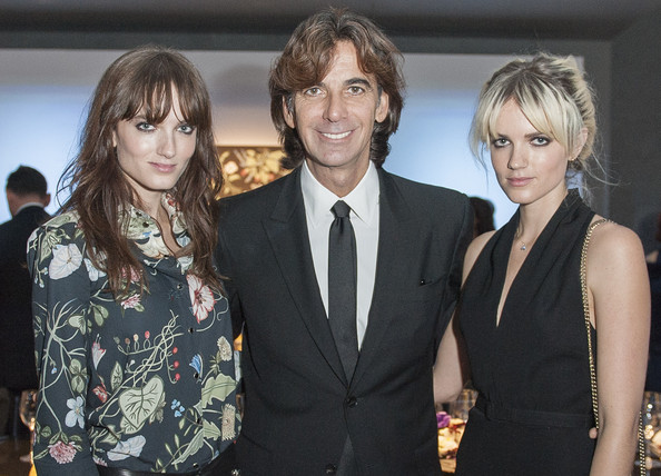 Gucci Celebrates Flora Knight Collection Dinner [hairstyle,fashion,event,premiere,suit,fashion design,dress,formal wear,white-collar worker,patrizio di marco,president,kris knight,say lou lou,elektra,dinner,hong kong,gucci celebrates flora knight collection,gucci,gucci dinner]