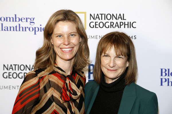 'Paris To Pittsburgh' Film Screening, Hosted By Bloomberg Philanthropies And National Geographic [hair,face,hairstyle,skin,blond,cheek,fashion,long hair,event,fun,patti harris,antha williams,paris,pittsburgh,national geographic headquarters,washington dc,bloomberg philanthropies,national geographic,film screening,film screening]