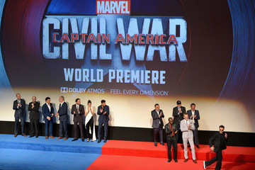 Paul Bettany The World Premiere of Marvel's 'Captain America: Civil War' - Red Carpet