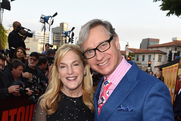 Paul Feig Laurie Karon Premiere of 20th Century Fox's 'Snatched' - Red Carpet