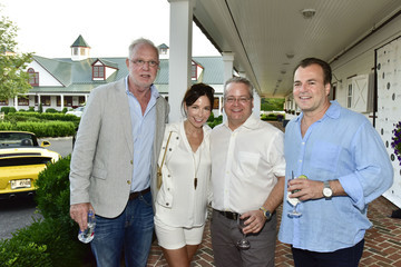 Paul Fusco Douglas Elliman & Hamptons Magazine Celebrate Summer at Campbell Stables