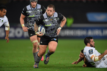 Paul James Ospreys v ASM Clermont Auvergne -  Champions Cup