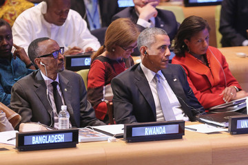 Paul Kagame President Obama Attends Annual UN General Assembly