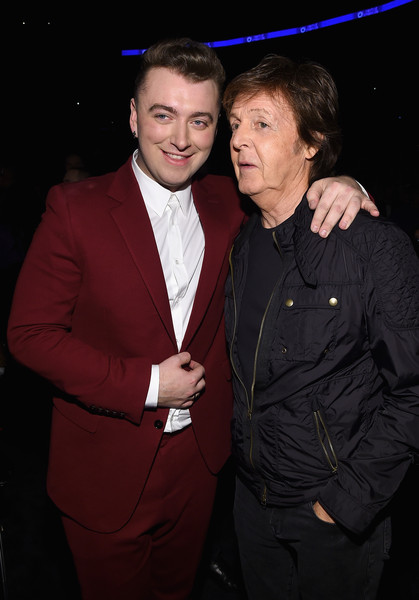 Paul McCartney - The 57th Annual GRAMMY Awards - Backstage
