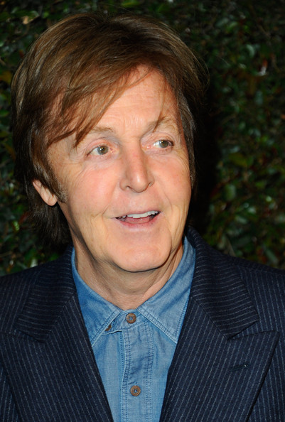"Paul McCartney Musician Paul McCartney attends the world premiere of ""My Valentine"" video hosted by Paul McCartney and Stella McCartney on April 13, 2012 in West Hollywood, California."