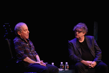 Paul Muldoon Paul Simon and Paul Muldoon Chat on Stage in NYC
