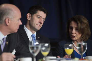 Paul Ryan President Obama Attends the National Prayer Breakfast