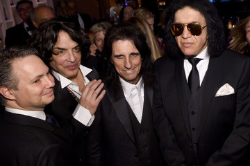 Paul Stanley 2016 Pre-GRAMMY Gala And Salute to Industry Icons Honoring Irving Azoff - Backstage And Audience
