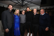 (L-R) Andrew Form, Emily Blunt, Brandon Proctor, John Krasinski, Brad Fuller and Paramount Pictures Chairman and CEO Jim Gianopulos attend a special screening of ?A Quiet Place? at The Hearth and Hound on November 27, 2018 in Los Angeles, California.