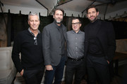 (L-R) Brad Fuller, Andrew Form, Brandon Proctor and John Krasinski attend a special screening of ?A Quiet Place? at The Hearth and Hound on November 27, 2018 in Los Angeles, California.
