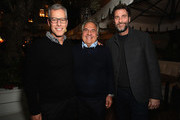 (L-R) Brad Fuller, Paramount Pictures Chairman and CEO Jim Gianopulos and Andrew Form attend a special screening of ?A Quiet Place? at The Hearth and Hound on November 27, 2018 in Los Angeles, California.