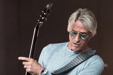 Paul Weller Attendees Celebrate Glastonbury Festival 2015