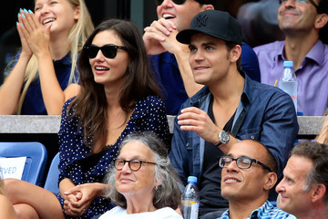 Paul Wesley 2015 U.S. Open - Day 13