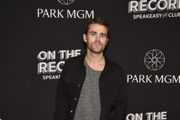 Paul Wesley On The Record Speakeasy And Club Red Carpet Grand Opening Celebration At Park MGM